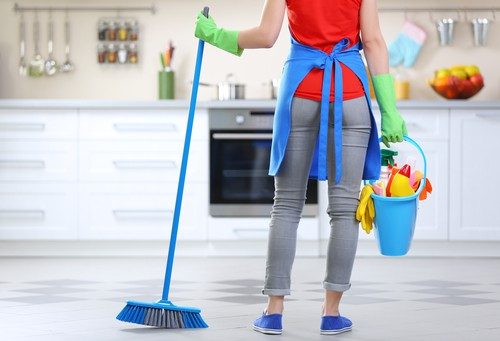 Outsourcing spring cleaning service