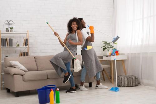 Making spring cleaning fun